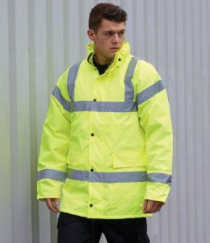 PW003 Portwest Hi-Vis Traffic Jacket
